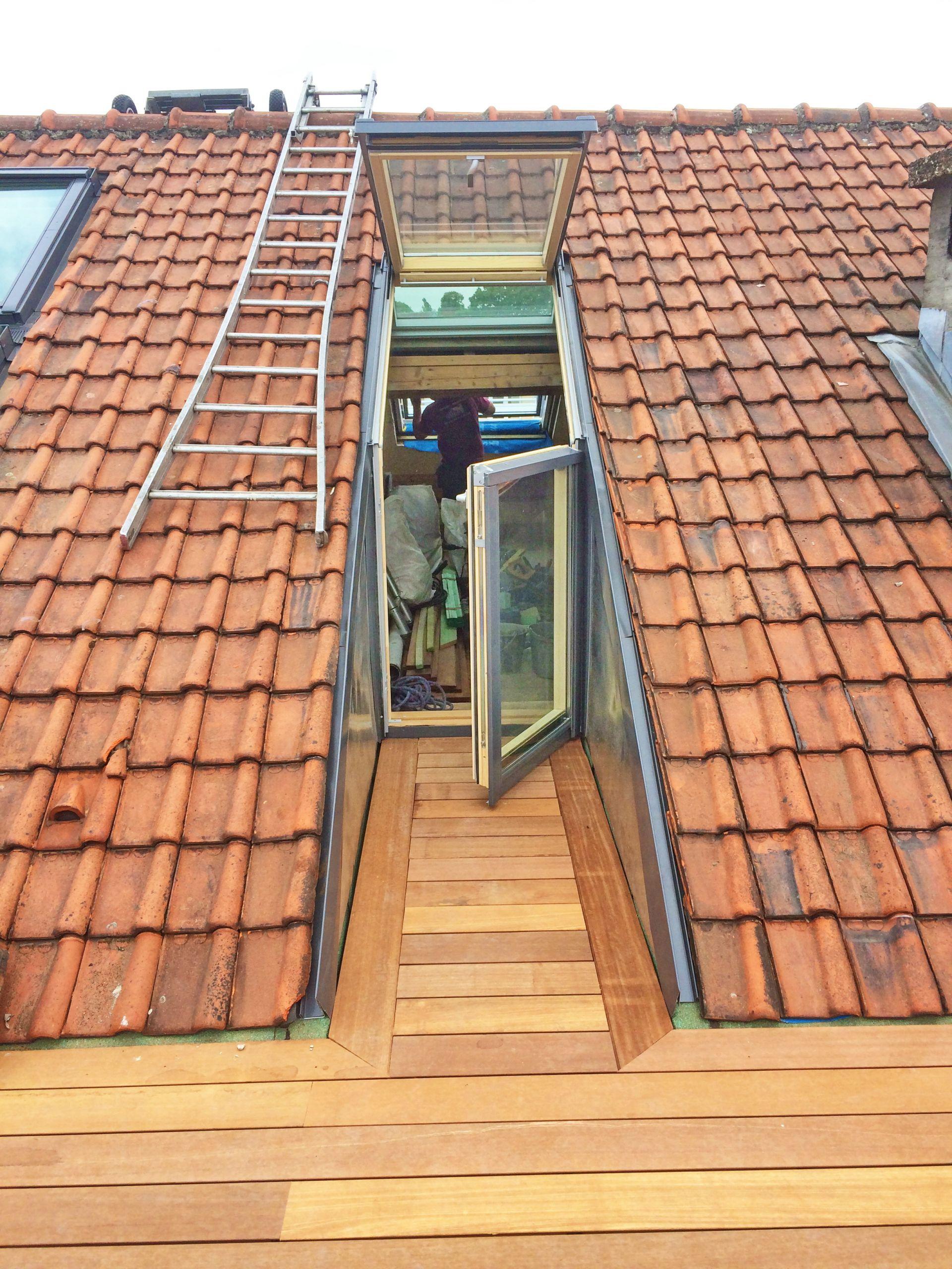 Acces toit Terrasse Terrasse toiture Constant - Idees Conception Jardin | Idees Conception Jardin