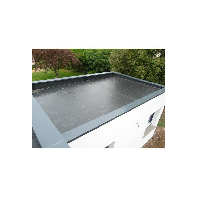 Couvertines Alu 10 10e pour acrotères de toit terrasse