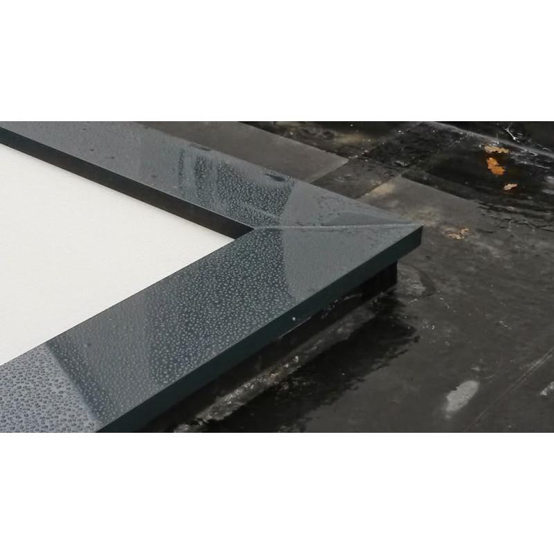 Couvertines Alu 7 10e pour acrotères de toit terrasse Au