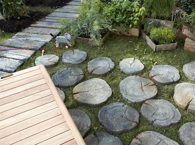 6 bonnes idées déco pour une allée de jardin Elle Décoration