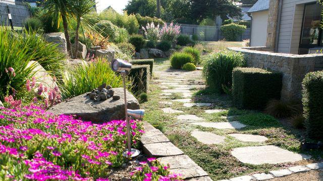 Allée de jardin nos conseils pour la réaliser Côté Maison