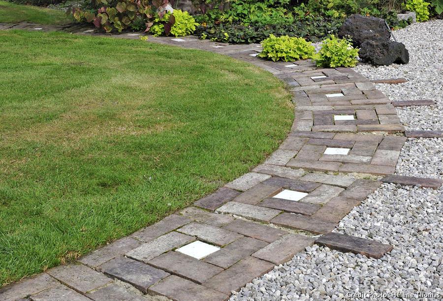 Créer une allée de jardin mode d emploi Détente Jardin