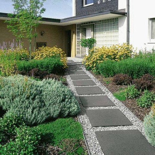 image modele allee de jardin