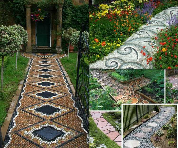 Allée de jardin idées et astuces de décoration