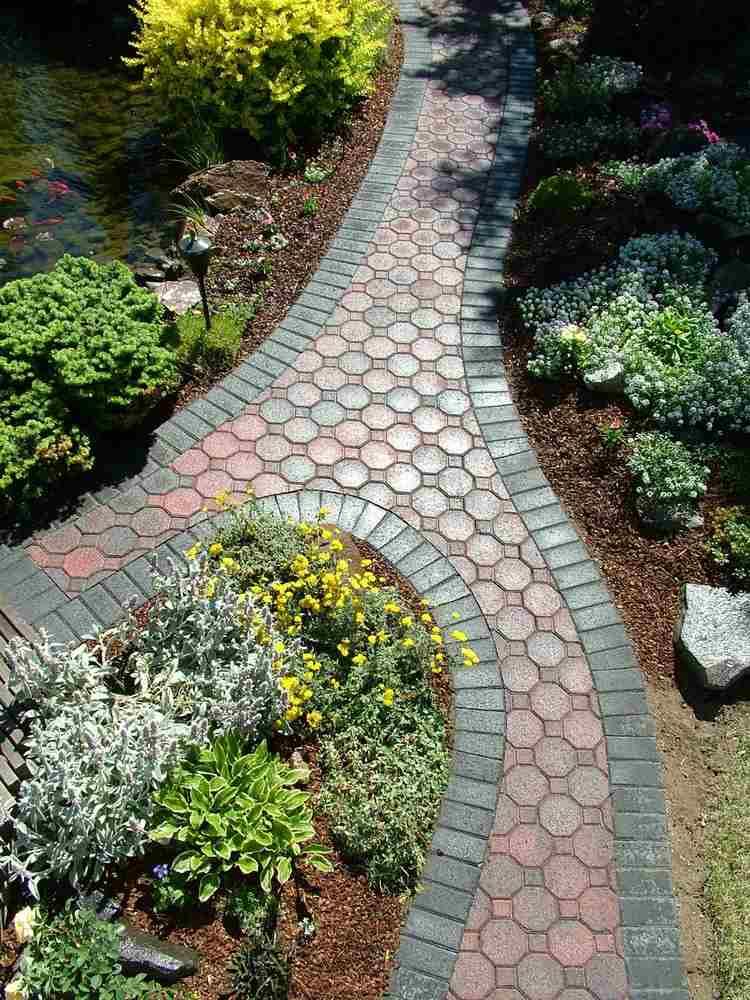 Allées de jardin originales en 48 idées inspirantes