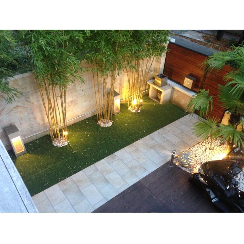 Aménagement espaces jardins cours intérieures