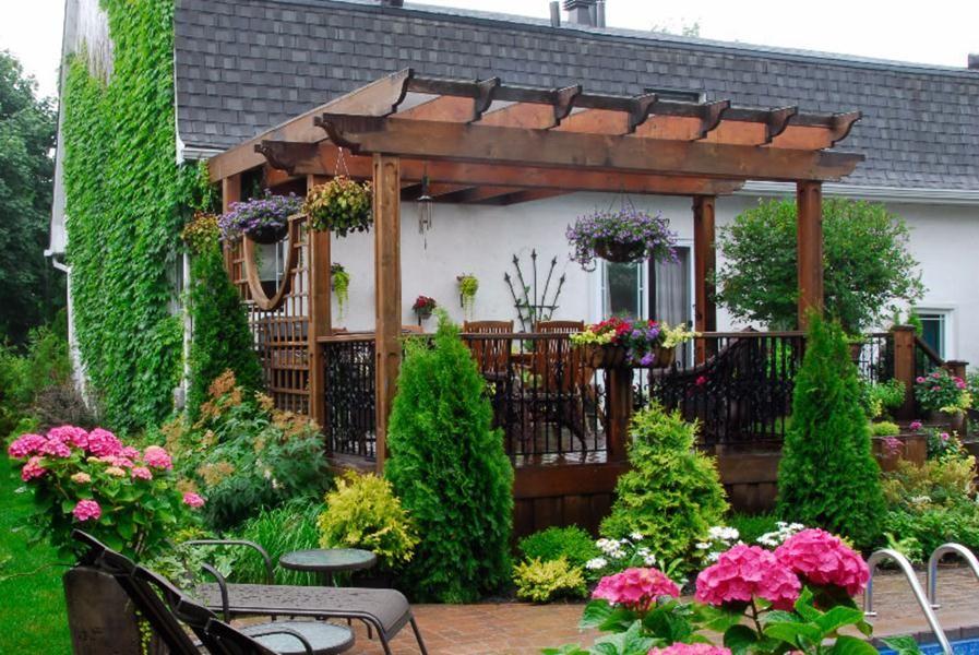 Aménagement paysager Terrasse extérieure