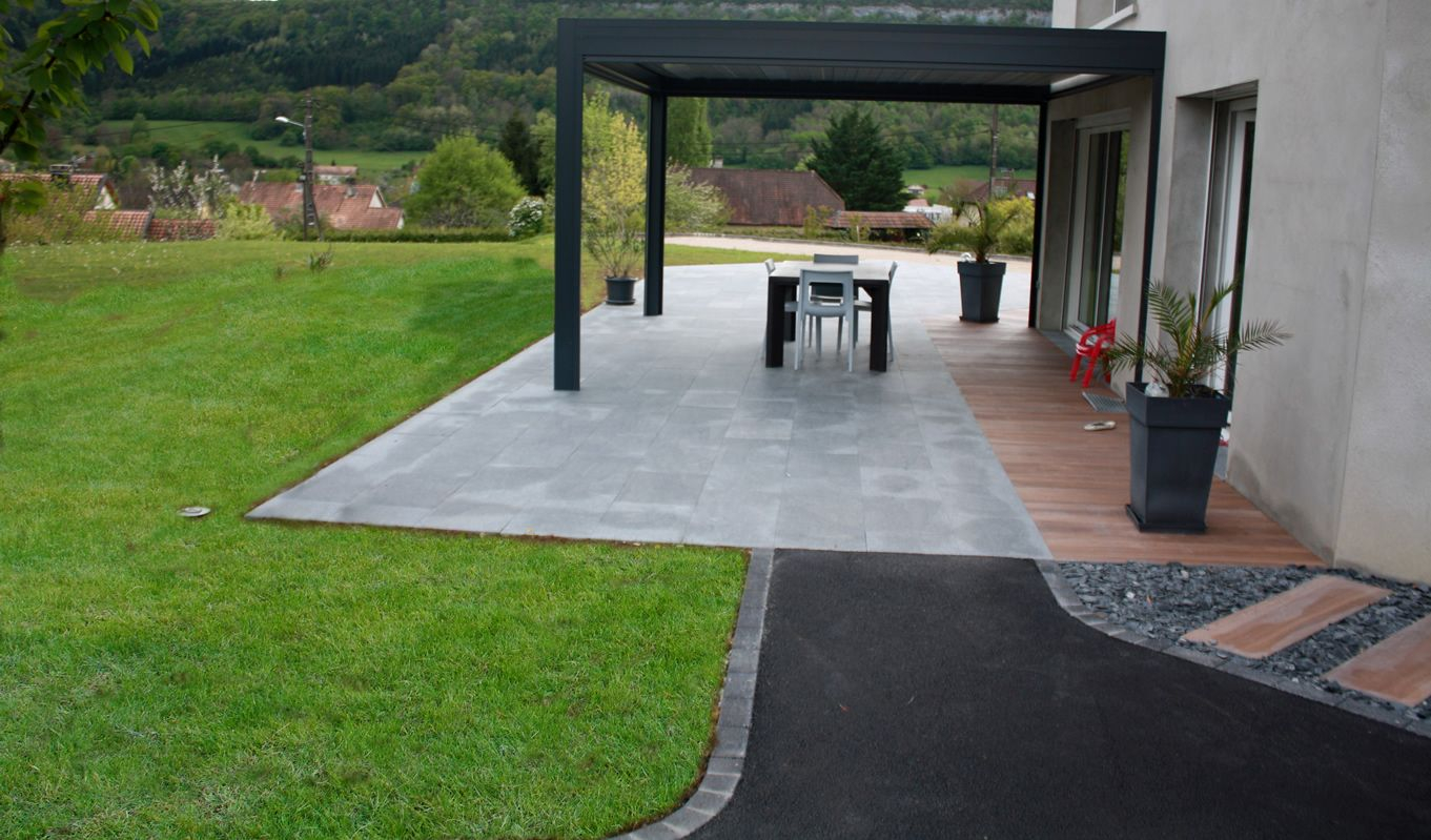 Aménagement De Terrasse Aménagement De Terrasse En Dalles – Cuinet