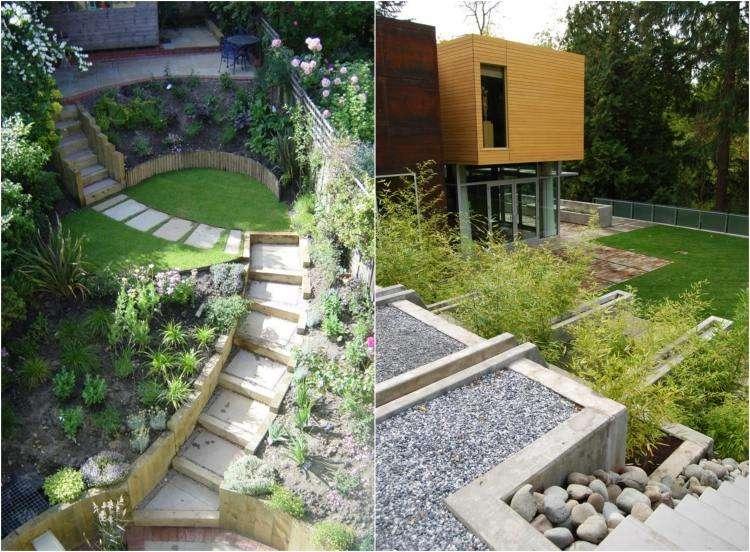 Aménagement Jardin En Pente Aménager son Jardin En Pente Conseils Pratiques Et Photos