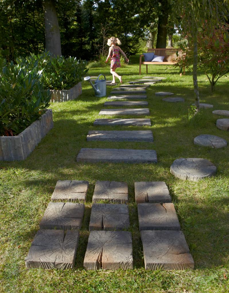 Am nagement jardin pas cher amenager son jardin pas cher - Bordure de jardin en pierre pas cher ...