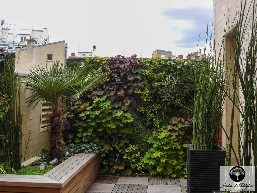 Aménagement terrasse relooking végétal en plein cœur de
