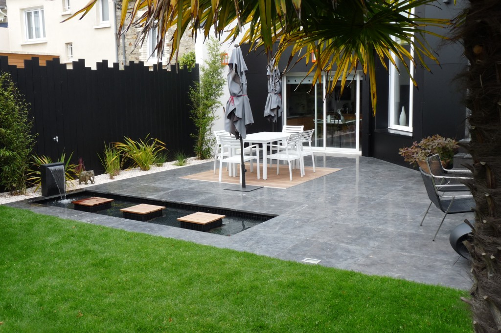 Terrasse de jardin Mailleraye jardin