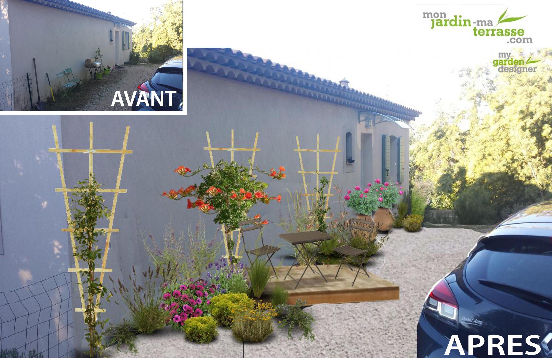 Décorer Un Mur De Jardin aménager un jardin ment aménager un petit jardin