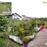 Aménager Un Jardin En Pente Aménagement D'un Terrain En Pente