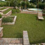 Aménager Un Jardin En Pente Amenagement Jardin Terrain En Pente