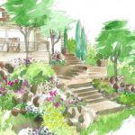 Aménager Un Jardin En Pente Conseils De Paysagiste Un Jardin En Pente M6 Deco