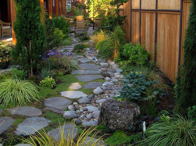 Aménager Un Jardin En Pente Ment Créer Un Jardin Alpin Sur Une Terrasse Elle