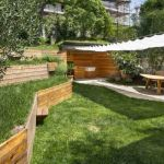 Aménager Un Jardin En Pente Murs De soutènement En Bois Aménagez Un Jardin En Pente