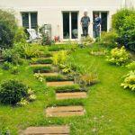 Aménager Un Jardin En Pente Terrasse Jardin Pente