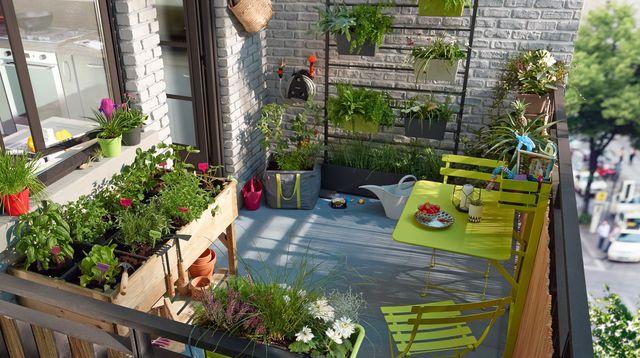 balcon aménagé l atelier des fleurs