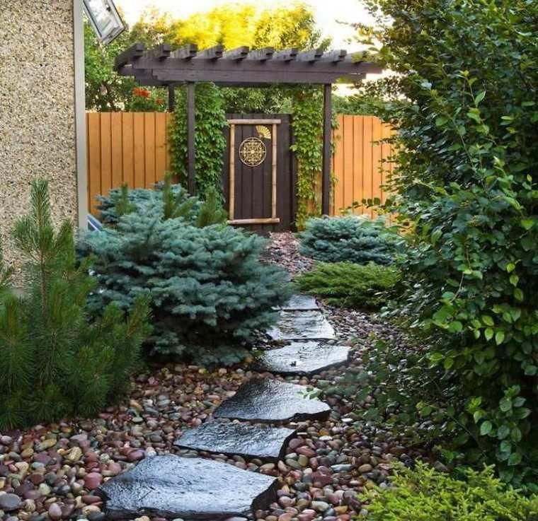 Aménagement allée de jardin et chemin de pierre en 95