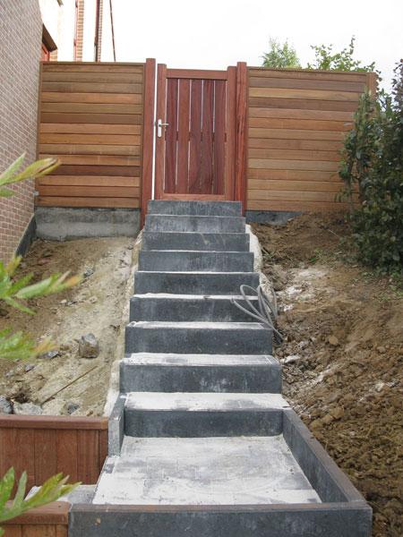Aménagement extérieur Escalier et entrée Laurent Leroy