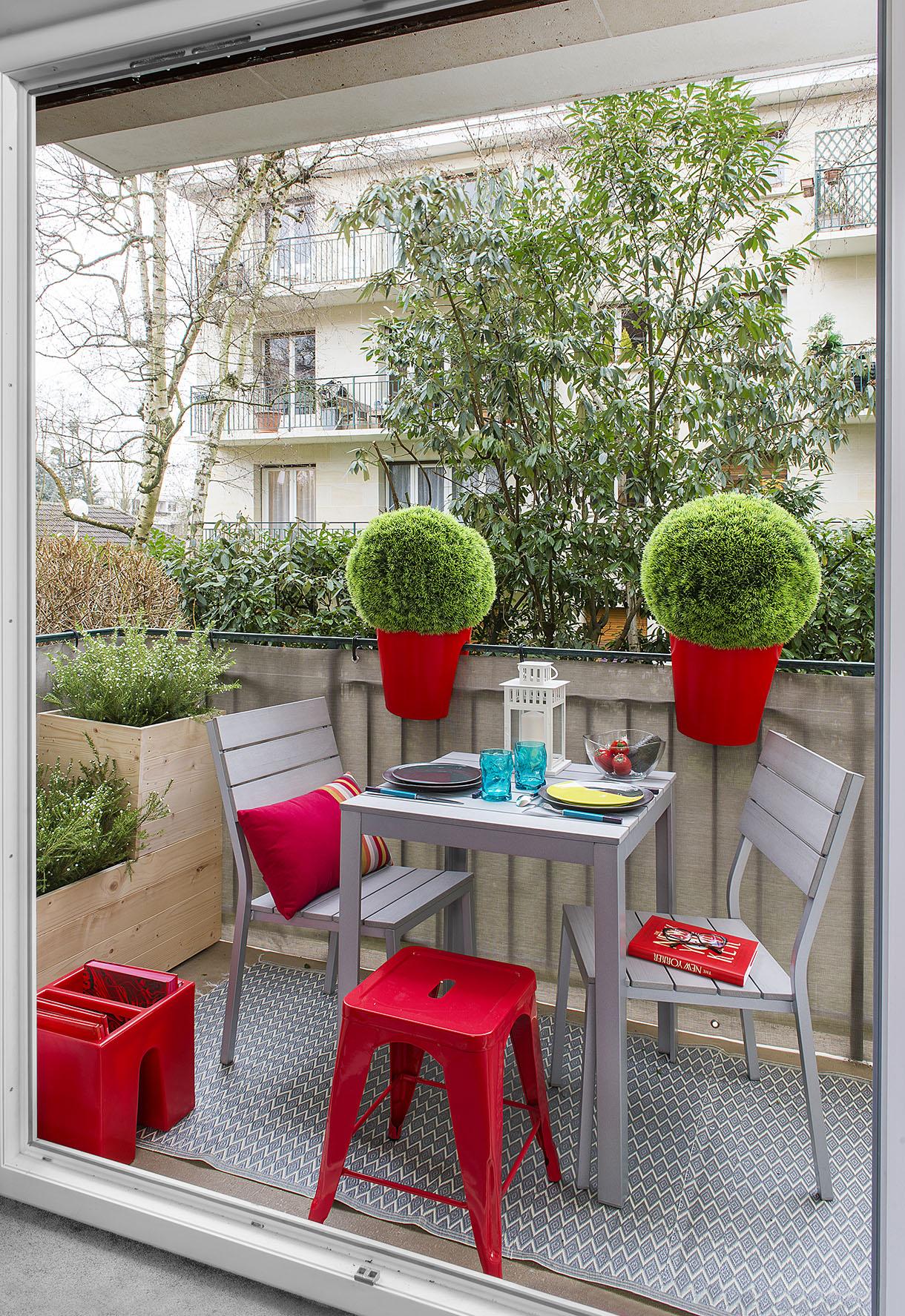 Table Pour Balcon Étroit aménagement de balcon nos meilleures idées pour aménager un