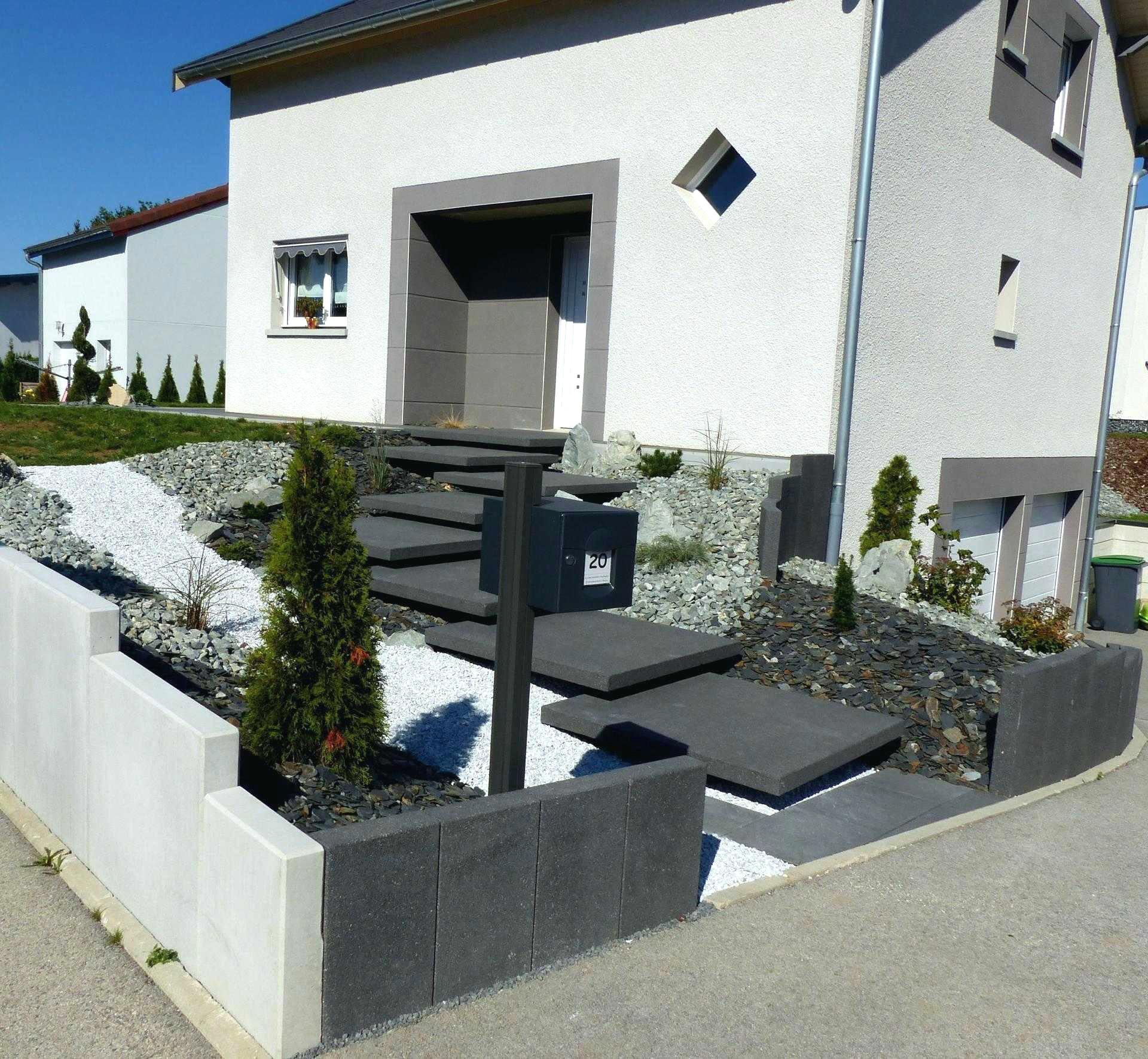 Amenagement Exterieur Terrasse Maison idee amenagement jardin devant maison