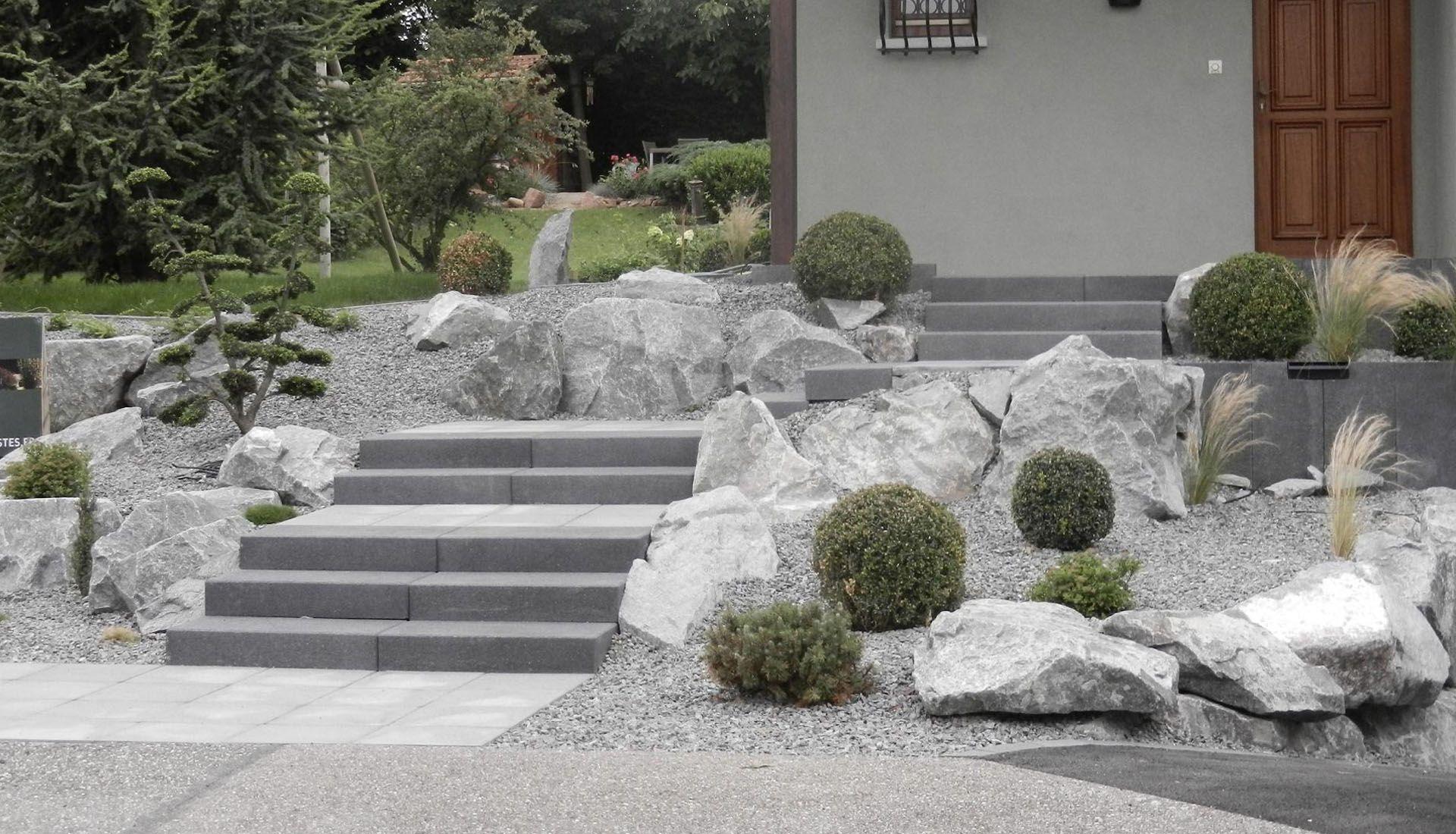 Aménagement Extérieur Entrée Maison amenagement escalier exterieur maison amenagement exterieur