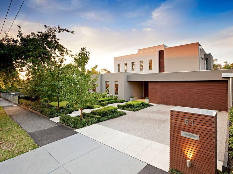 Aménagement jardin devant maison en 50 idées modernes