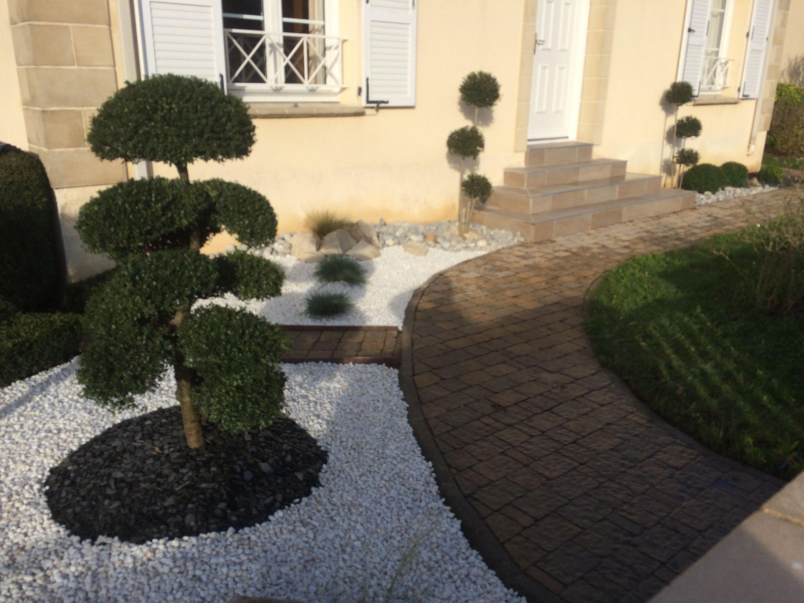 Aménagement Extérieur Entrée Maison aménagement extérieur entrée maison créations plantations