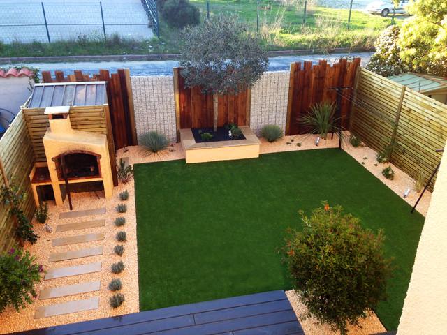 Aménagement Jardin Moderne Aménagement D Un Jardin Avec Terrasse En Bois Posite Et