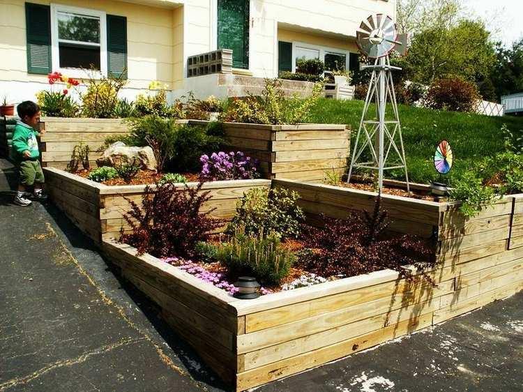 24 idées pour l aménagement de votre jardin sur une pente