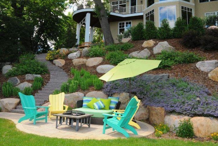 Amenagement Jardin Pente Aménager son Jardin En Pente Conseils Pratiques Et