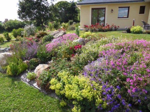 Amenagement Jardin Pente Juin Au Jardin Jardin