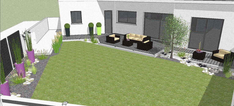 Etudes création et aménagement de parcs et jardin sur la