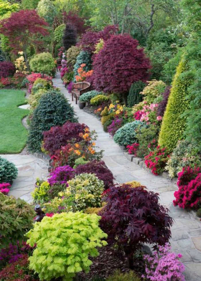Jardin et GAZON anglais