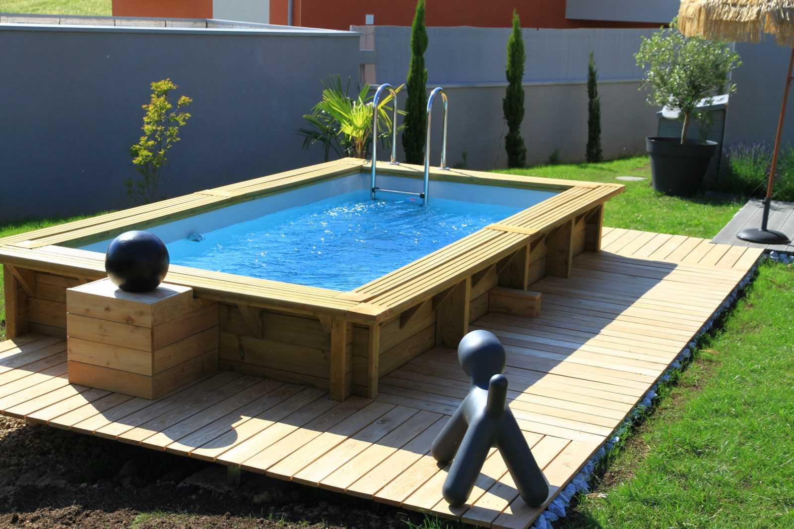 Amenagement Jardin Avec Piscine Bois amenagement jardin piscine amenagement piscine bois - idees