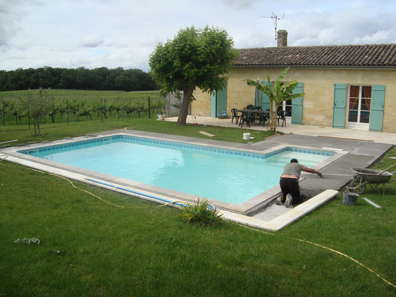 idee jardin avec piscine