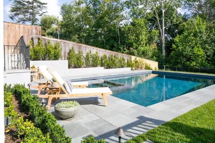 Palissade jardin pour délimiter l'espace et préserver l