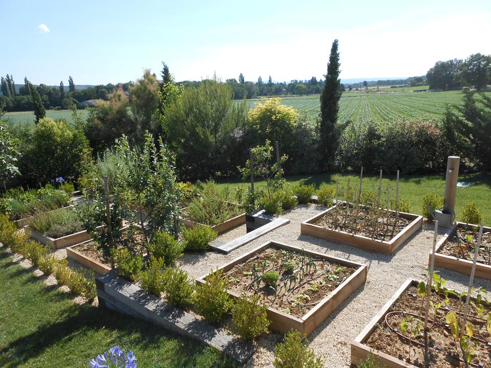 Jardin potager Guillon paysagesGuillon paysages