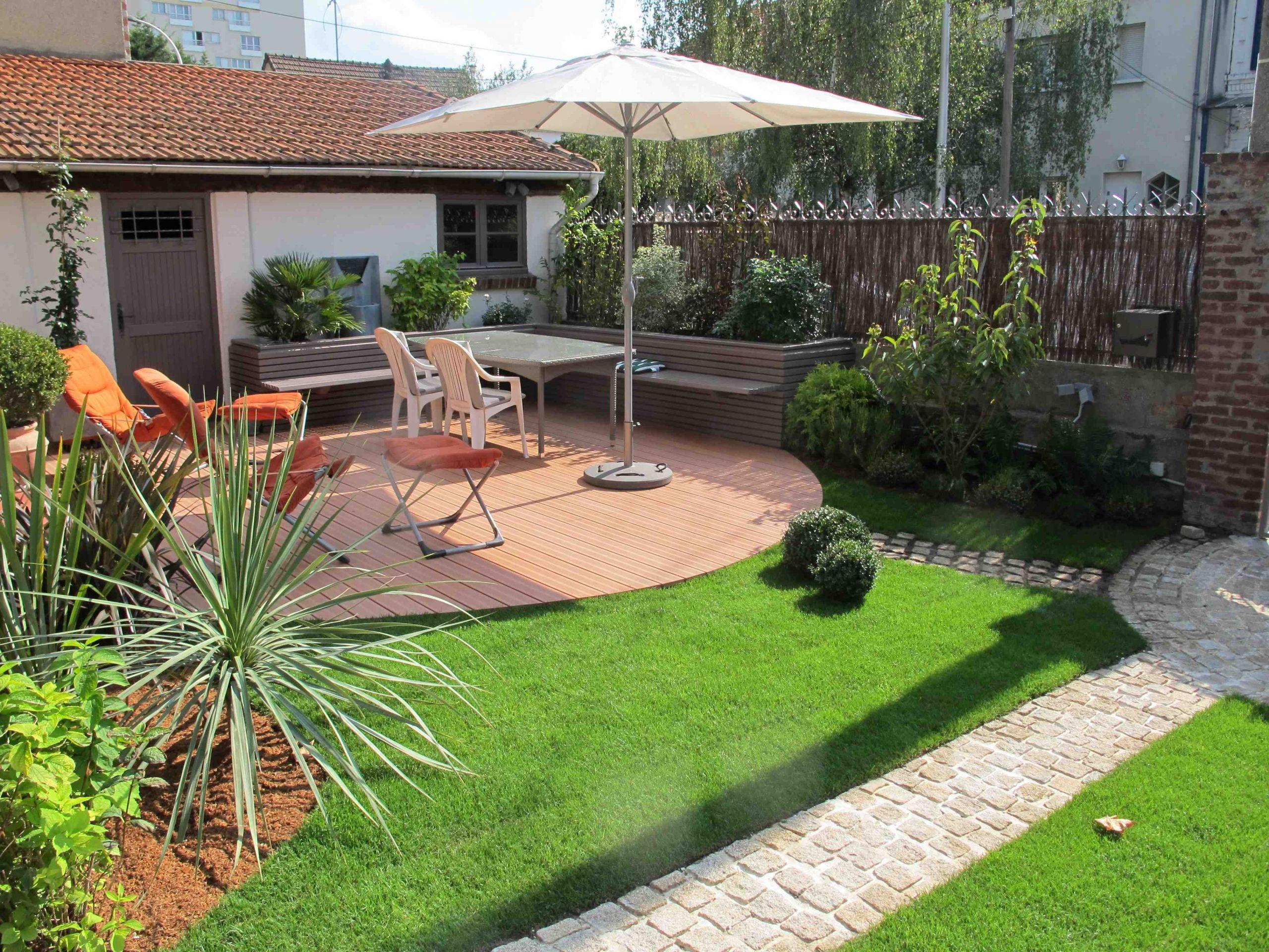 Jardin Sur Une Terrasse aménagement jardin terrasse aménagement jardin modification