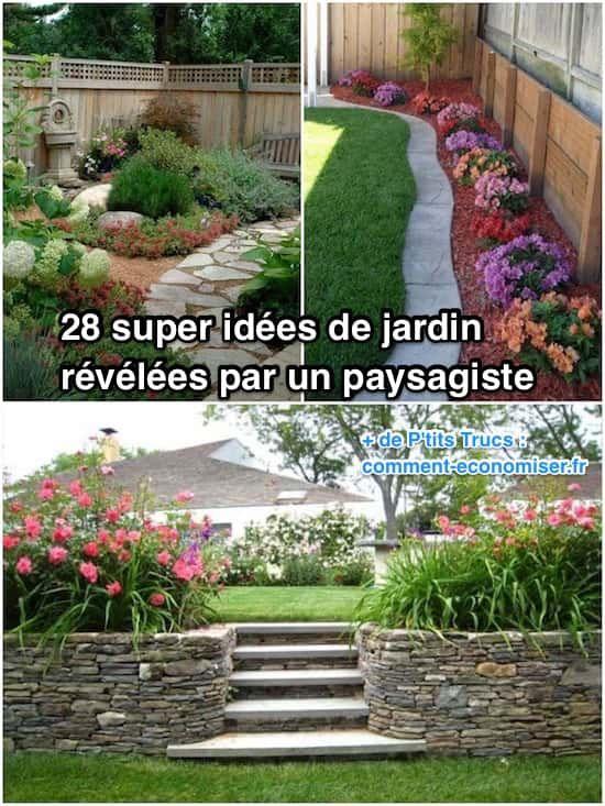 28 Super Idées de Jardin Révélées Par un Paysagiste