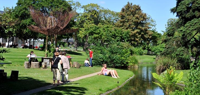 Les parcs et jardins à Nantes