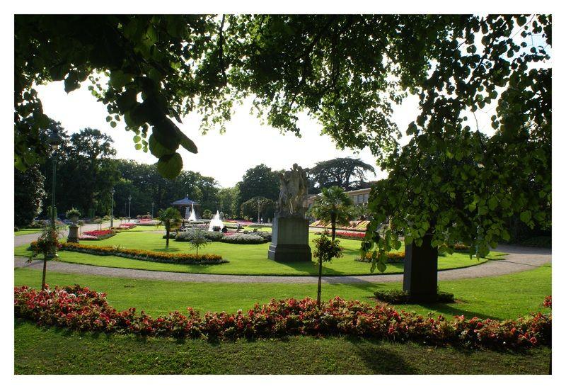 Parcs et jardins parc du Thabor Aménagement 2