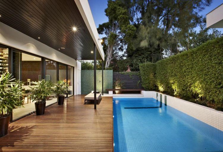 Brise Vue Bois am nagement jardin et terrasse en bois