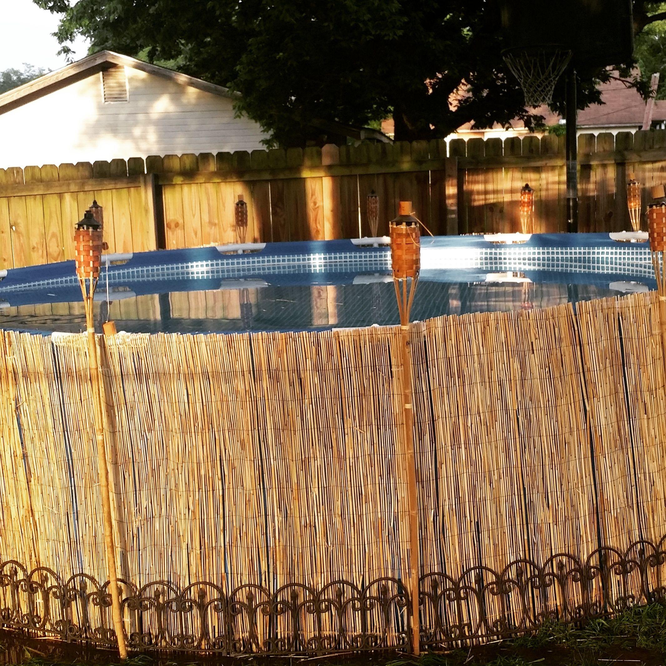 Piscine Tubulaire Habillage Bois amenagement piscine tubulaire une façon simple et jolie d