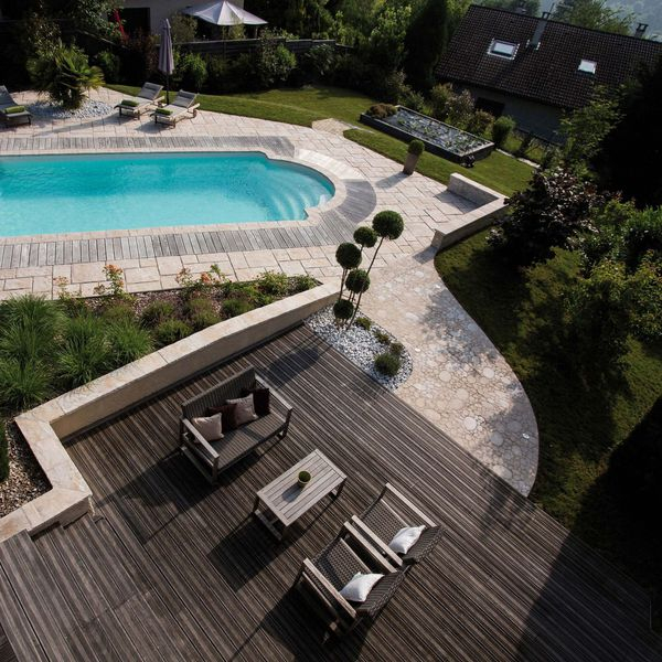 amenagement piscine plage