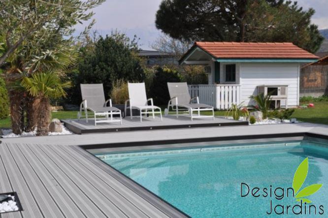 Aménager une plage de piscine Design
