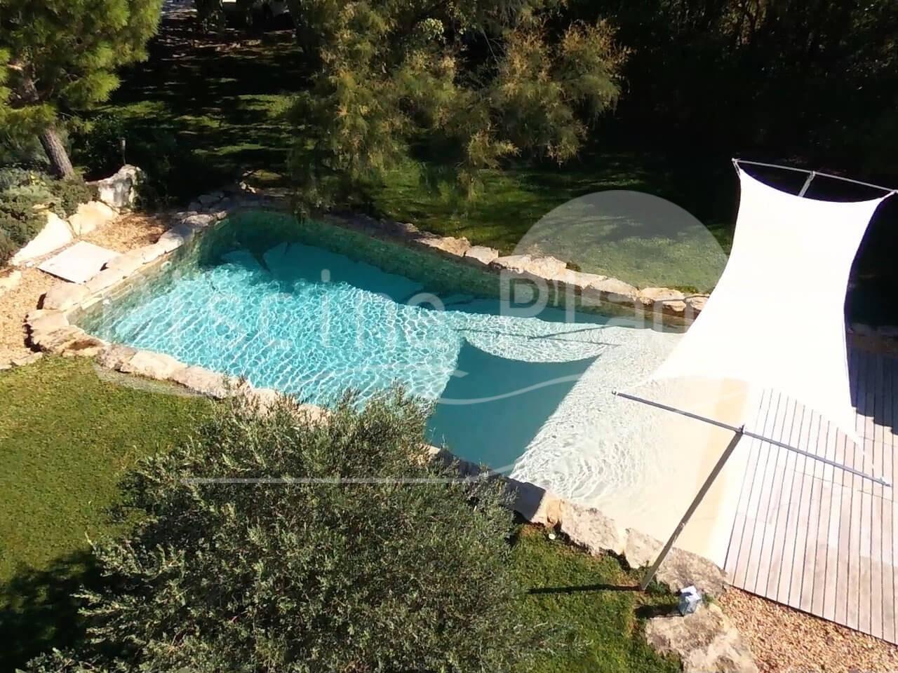 plage piscine definition